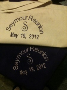 Seymour Reunion Tote Bag and Matching Blanket