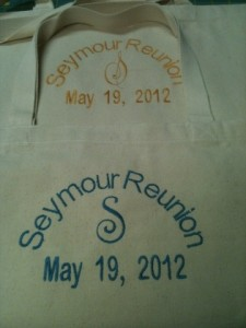2012 Seymour Reunion Tote for raffle